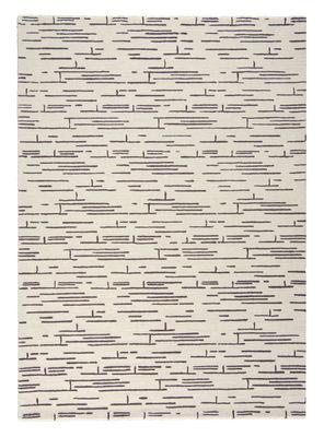 Déco - Tapis - Tapis Rythme / 170 x 240 cm - Tufté main - Toulemonde Bochart - Noir & blanc - Laine