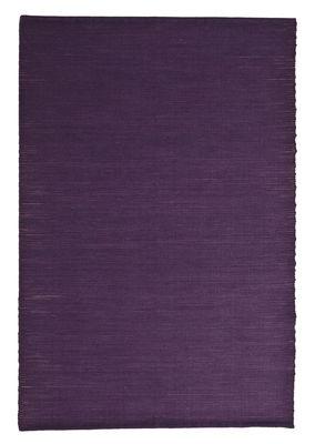 Interni - Tappeti - Tappeto Natural Tatami - / Iuta e lana - 170 x 240 cm di Nanimarquina - Viola tinta unita - Fibre di iuta, Lana vergine