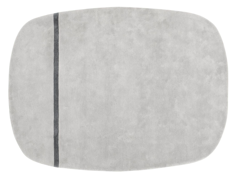 Interni - Tappeti - Tappeto Oona - - 175 x 240 cm di Normann Copenhagen - Grigio - Lana