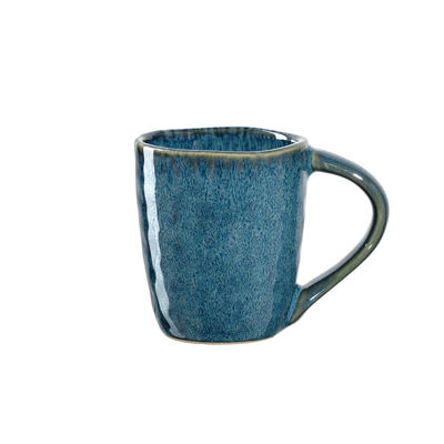 Arts de la table - Tasses et mugs - Tasse à espresso Matera / Grès - 90 ml - Leonardo - Bleu - Grès émaillé