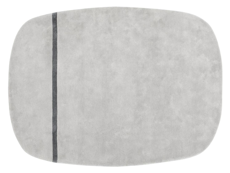Dekoration - Teppiche - Oona Teppich - 175 x 240 cm - Normann Copenhagen - Grau - Wolle