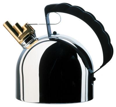Tischkultur - Tee und Kaffee - Wasserkessel für Induktionsherde - Alessi - Induktion - rostfreier Stahl