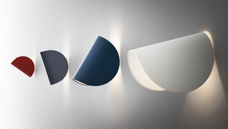 Applique io led orientable gris foncé fontana arte made in design