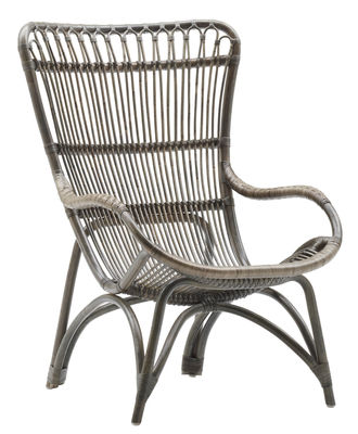 Furniture - Armchairs - Monet Armchair by Sika Design - Taupe - Rattan