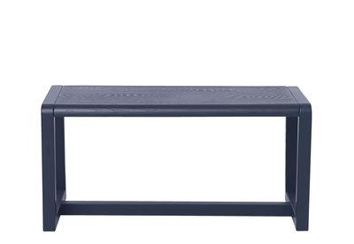 Banc enfant Little Architect / Bois - L 62 cm - Ferm Living bleu en bois