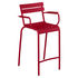 Luxembourg Bridge Bar chair - / H 69.5 cm - Aluminium by Fermob