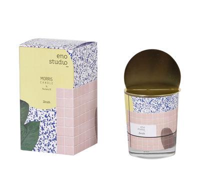 Bougie parfumée Morris - Zénith / Figuier - Couvercle laiton - ENOstudio multicolore,laiton en métal
