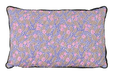 Déco - Coussins - Coussin Salon - Flower / 40 x 25 cm - Ferm Living - Sable -  Plumes, Mélange de fibres, Velours