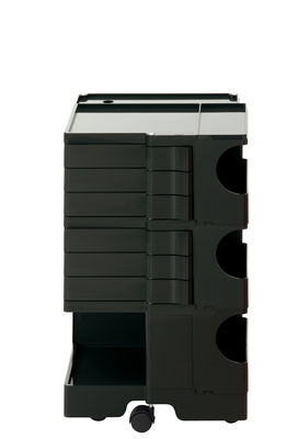 Furniture - Miscellaneous furniture - Boby Dresser - H 73 cm - 6 drawers by B-LINE - Black - ABS