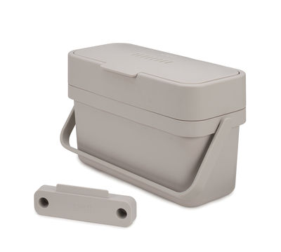 Cucina - Cestini - Pattumiera per rifiuti organici Compo - / 4 L di Joseph Joseph - Bianco - Materiale plastico