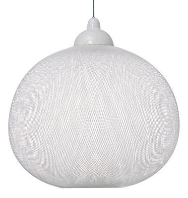 Lighting - Pendant Lighting - Non Random Light Pendant by Moooi - White - Fibreglass