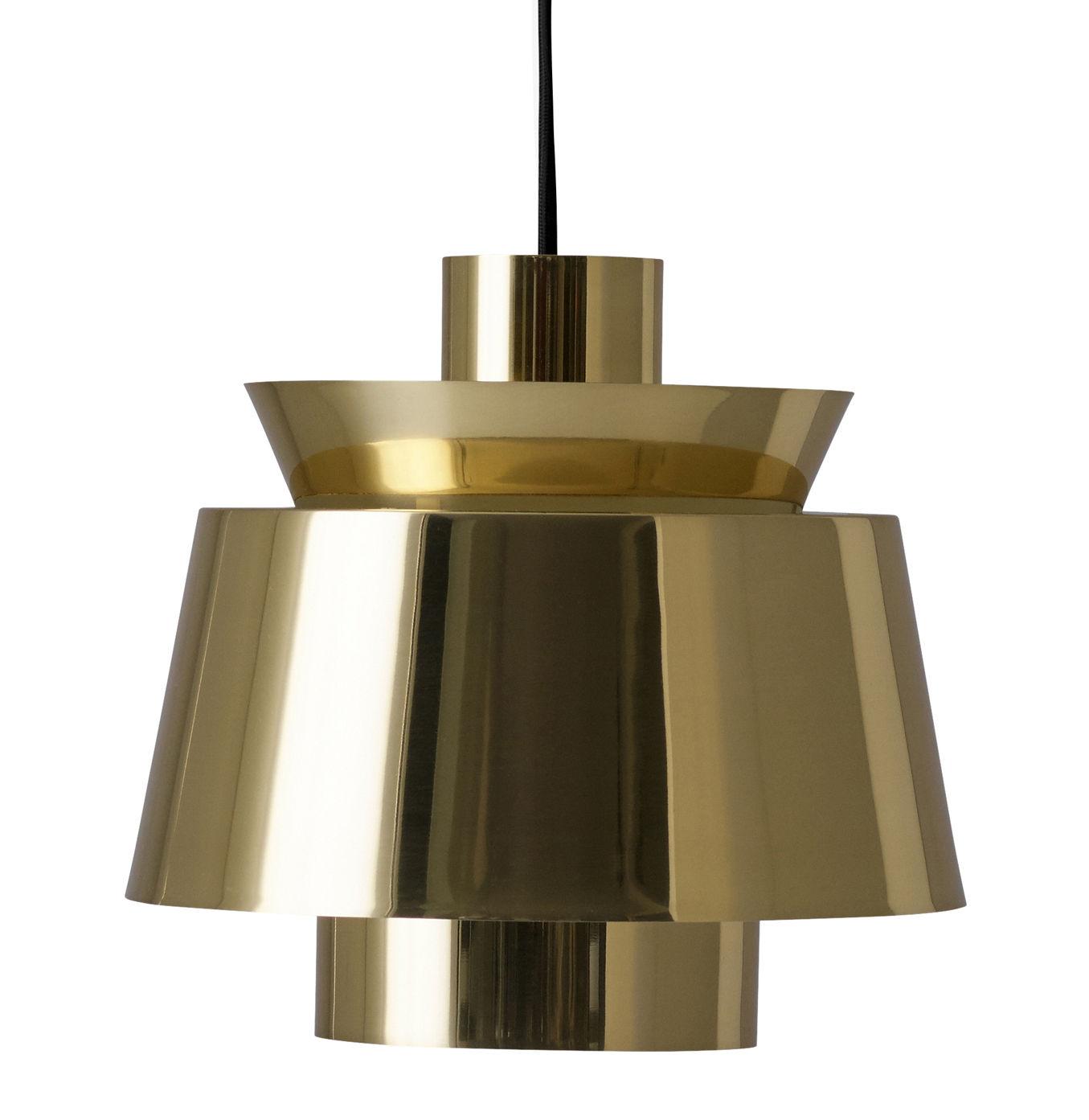 Lighting - Pendant Lighting - Utzon Pendant - / 1947 reissue by &tradition - Brass - Polished brass