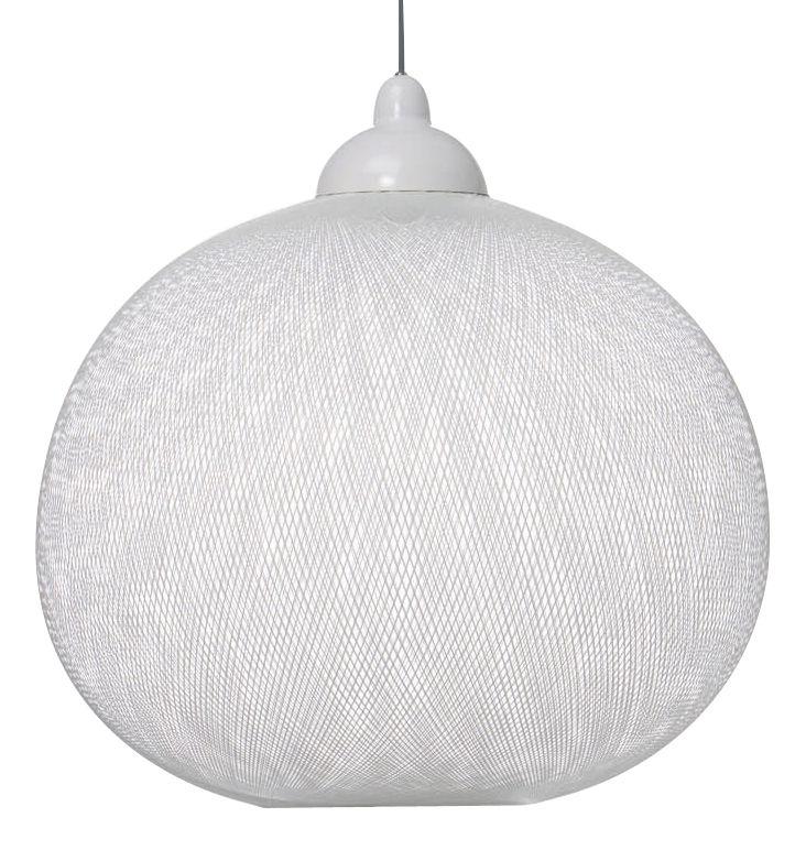 Leuchten - Pendelleuchten - Non Random Light Pendelleuchte - Moooi - Ø 48 cm - weiß - Glasfaser
