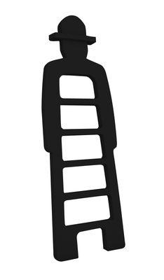 Arredamento - Mobili per bambini - Scala Mr Giò di Slide - Nero - Polietilene