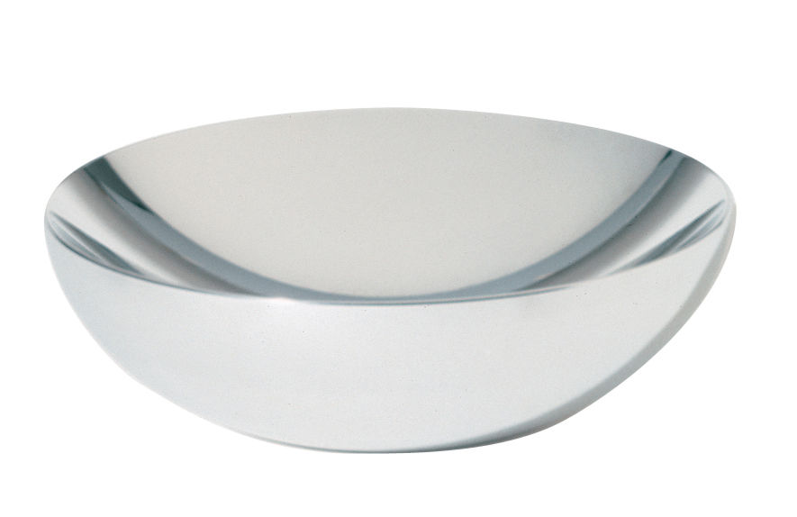 Tischkultur - Körbe, Fruchtkörbe und Tischgestecke - Double Schale - Alessi - Ø 20 cm - polierter Stahl