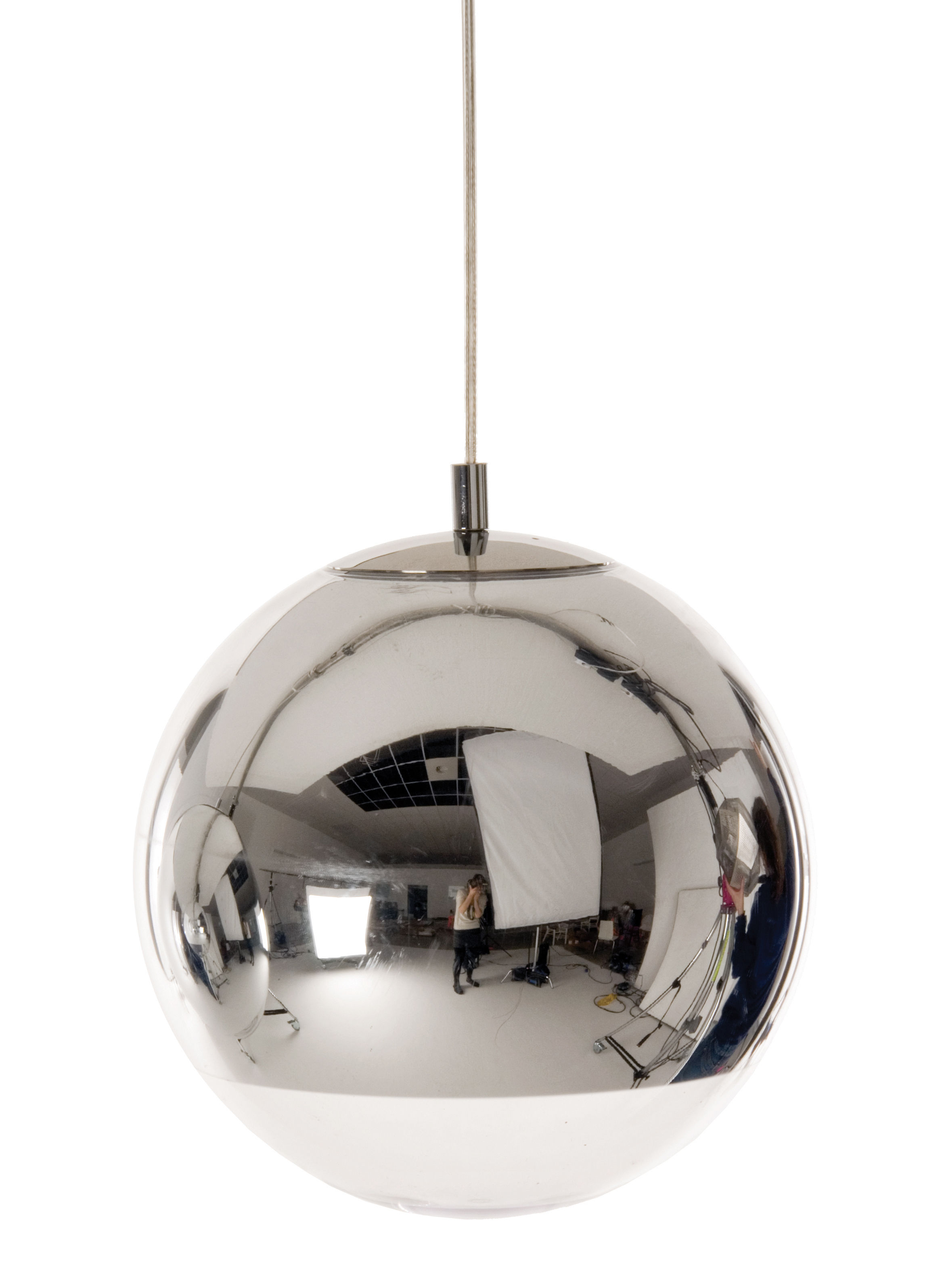 Illuminazione - Lampadari - Sospensione Mini ball di Tom Dixon - Sospensione Ø 25 cm - Metacrilato