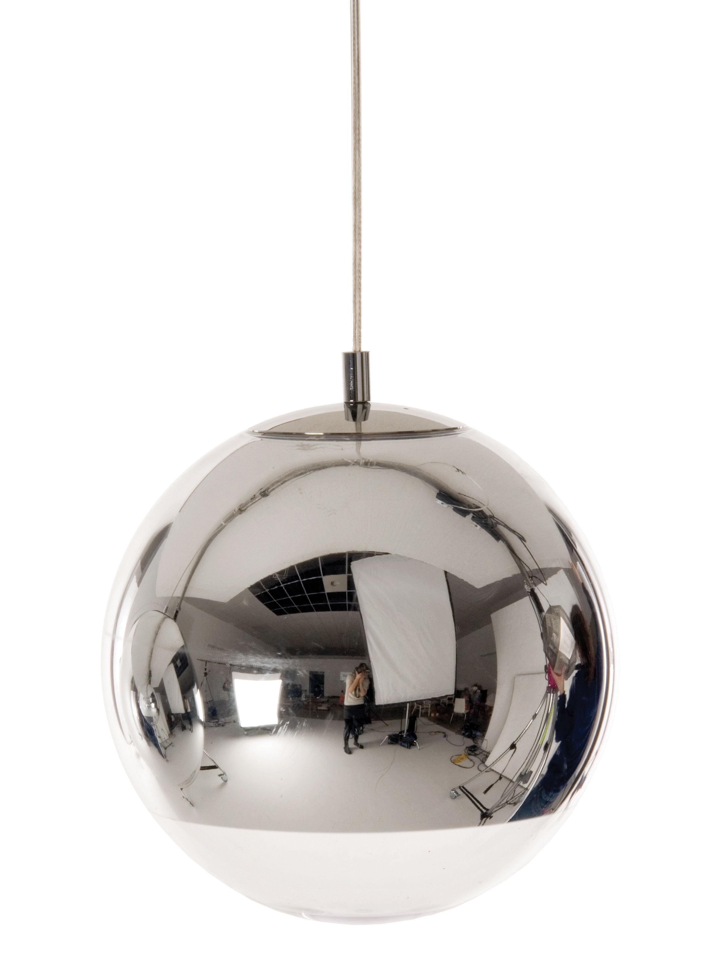 Luminaire - Suspensions - Suspension Mini ball - Tom Dixon - Suspension Ø 25 cm - Méthacrylate