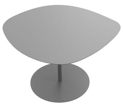 Mobilier - Tables basses - Table basse Galet n°1 / INDOOR - 59 x 63 - H 39,9 cm - Matière Grise - Gris - Acier