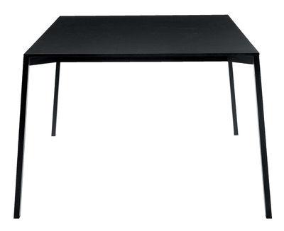 Jardin - Tables de jardin - Table rectangulaire One / 220 x 100 cm - Magis - Noir - 220 x 100 cm - Aluminium verni, HPL