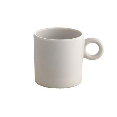 Tasse à café Dressed en plein air / Mélamine - Alessi gris clair en matière plastique