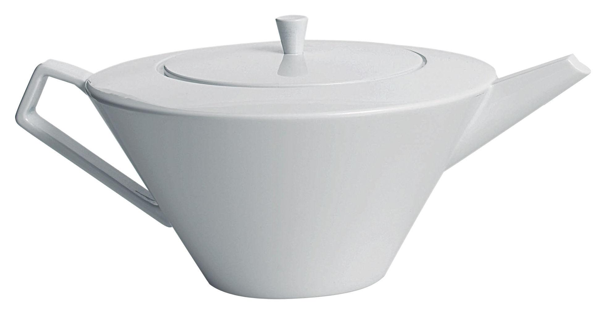 Tischkultur - Tee und Kaffee - Anatolia Teekanne - Driade Kosmo - Weiß - Porzellan