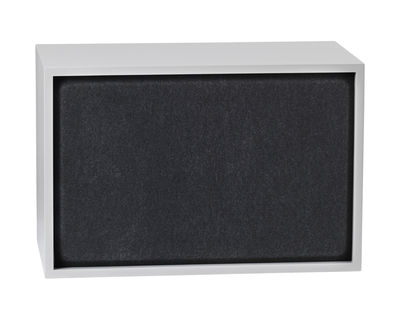 Furniture - Bookcases & Bookshelves - Acoustics board - For Large Stacked shelf  - 65x43 cm by Muuto - Grey - Felt