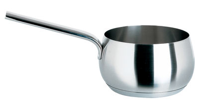 Cuisine - Casseroles, poêles, plats... - Casserole Mami / Ø 16 cm - Alessi - Ø 16 cm - Acier poli - Acier inoxydable