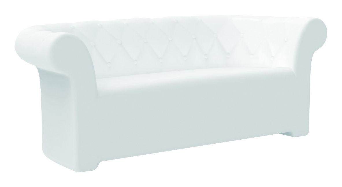 Furniture - Sofas - Sirchester Luminous sofa by Serralunga - White - Polythene