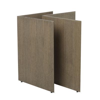 Paire de tréteaux Mingle Large / L 78 cm - Bois - Ferm Living bois naturel en bois