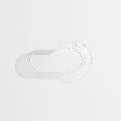 Arredamento - Scaffali e librerie - Scaffale Loop - / Corolle - L 94 cm di Petite Friture - Bianco - Acciaio verniciato