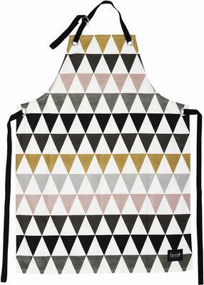 Arts de la table - Tabliers et torchons   - Tablier Triangle - Ferm Living - Multicolore - Coton
