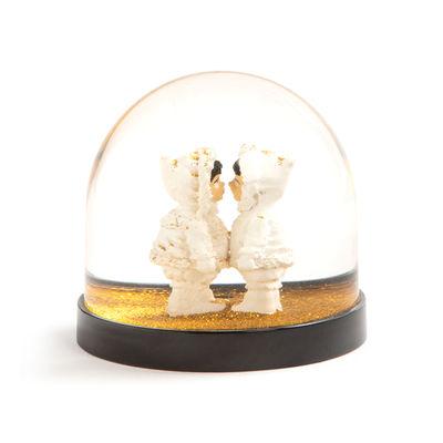 Image of Boccia con neve Esquimaux di & klevering - Beige - Materiale plastico