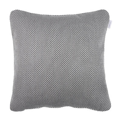 Déco - Coussins - Coussin d'extérieur Evasion / 44 x 44 cm - Fermob - Etna / Carbone - Mousse, Tissu acrylique