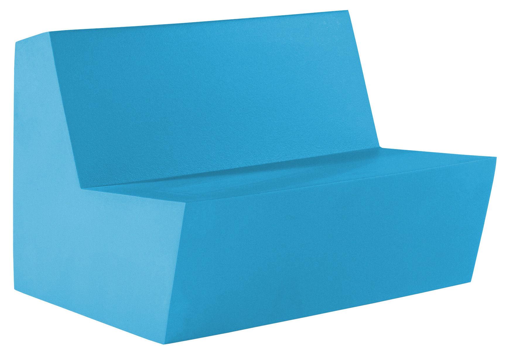 Arredamento - Mobili per bambini - Divano bimbi Minus Primary Duo - 2 posti di Quinze & Milan - Azzurro - Schiuma di poliuretano