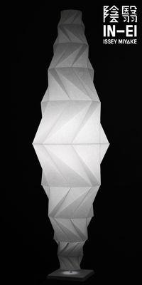 Illuminazione - Lampade da terra - Lampada a stelo IN-EI Minomushi LED - / Ø 62 x H 195 cm di Artemide - Blanc - alluminio verniciato, Fibra PET riciclata