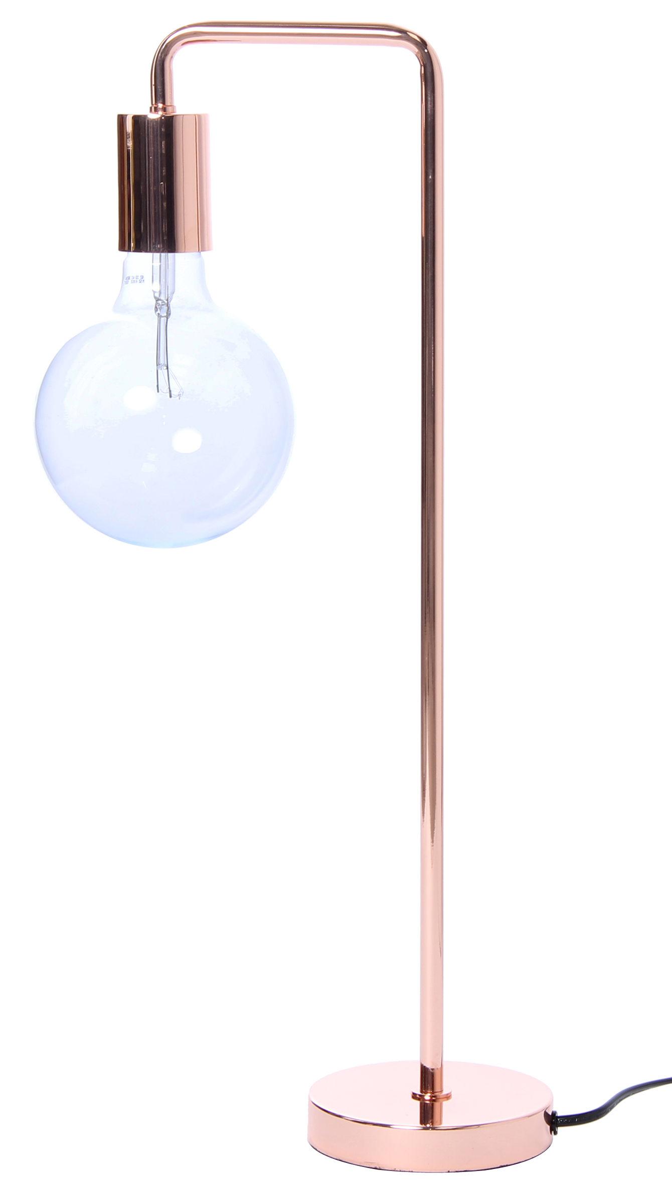 Luminaire - Lampes de table - Lampe de table Cool / H 55 cm - Frandsen - Cuivre - Métal finition cuivre