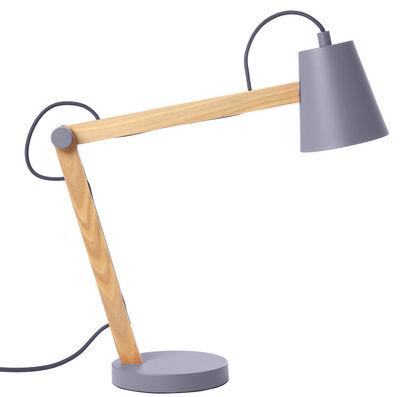 lampe de table play gris bois clair frandsen made in design. Black Bedroom Furniture Sets. Home Design Ideas