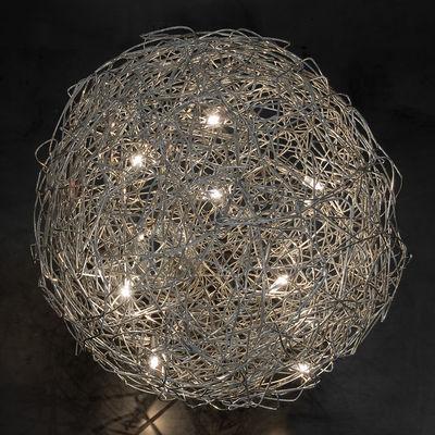 Lampe Fil de Fer Outdoor / LED - Ø 50 cm - Catellani & Smith aluminium en métal