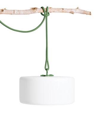Lampe Thierry Le swinger LED / à poser, suspendre ou planter - Fatboy blanc,vert en matière plastique
