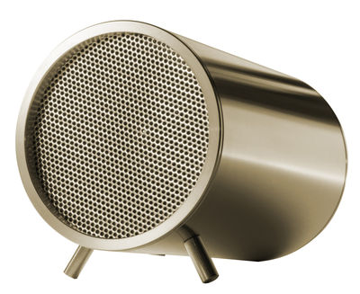 Father's day - Trendy high-tech accessories - Tube Loudspeaker - Bluetooth - Ø 5 cm by LEFF amsterdam - Brass - Stainless steel