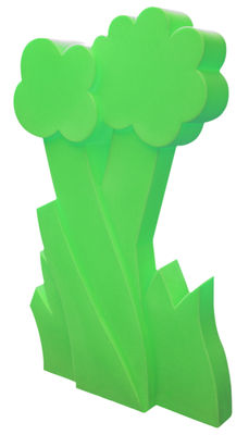 Paravent lumineux Myflower - Slide vert en matière plastique