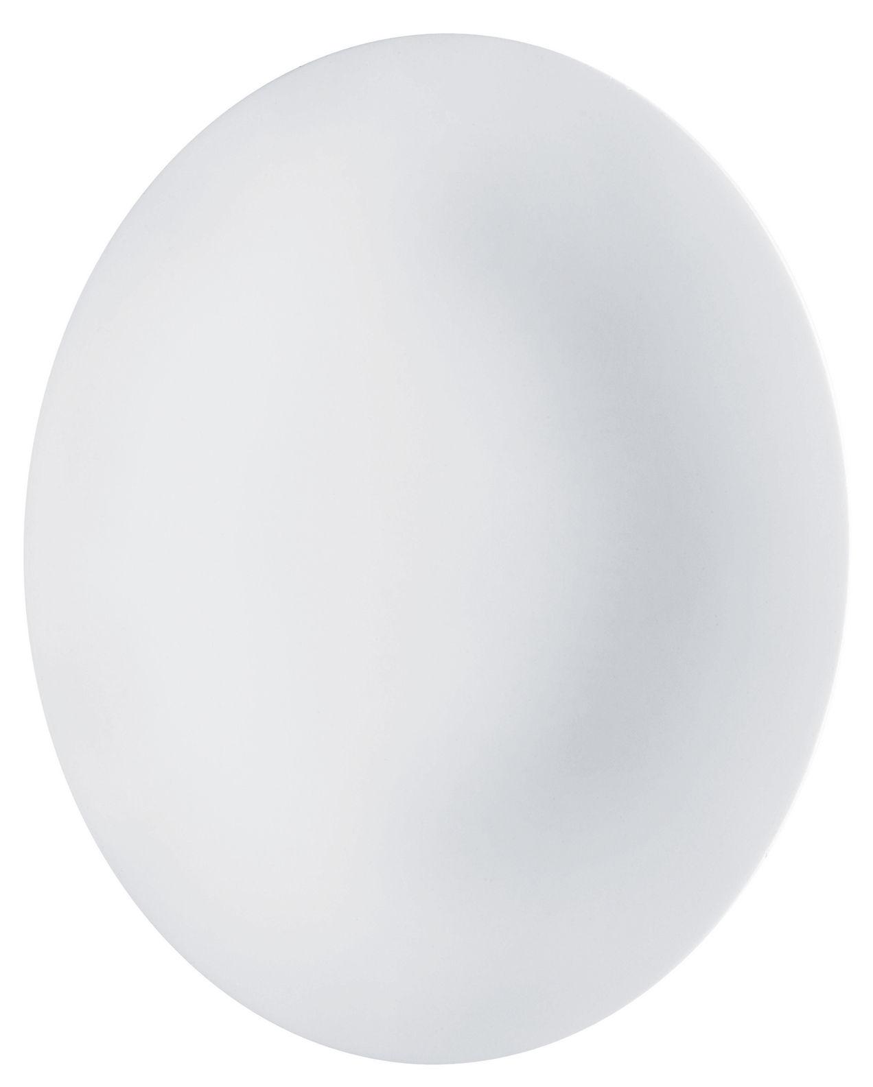 Arts de la table - Plats - Plat de service Ku / 36 x 28 cm - Alessi - Blanc - Porcelaine