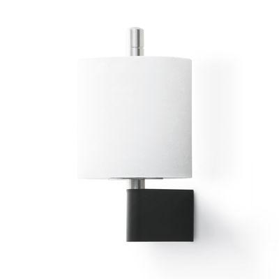 Porte rouleau papier toilette vipp 4 pour rouleau de r serve inox noir vipp made in design - Porte papier toilette noir ...