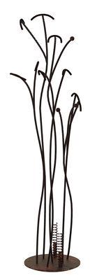 Mobilier - Portemanteaux, patères & portants - Portemanteau sur pied Irony Tree / Acier - H 170 cm - Zeus - Rouille - Acier finition rouille