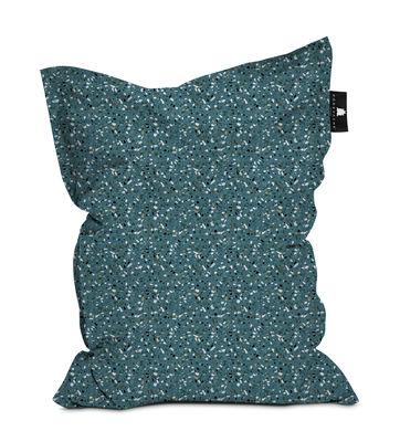 Furniture - Poufs & Floor Cushions - Terrazzo Pouf - / 140 x 180 cm by PÔDEVACHE - Green -  Micro-billes EPS, Polyester