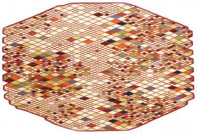 Furniture - Carpets - Losanges Rug - 165 x 245 cm by Nanimarquina - Multicoloured - Wool