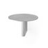 Column Shelf - / Aluminium - Ø 25 cm by &tradition
