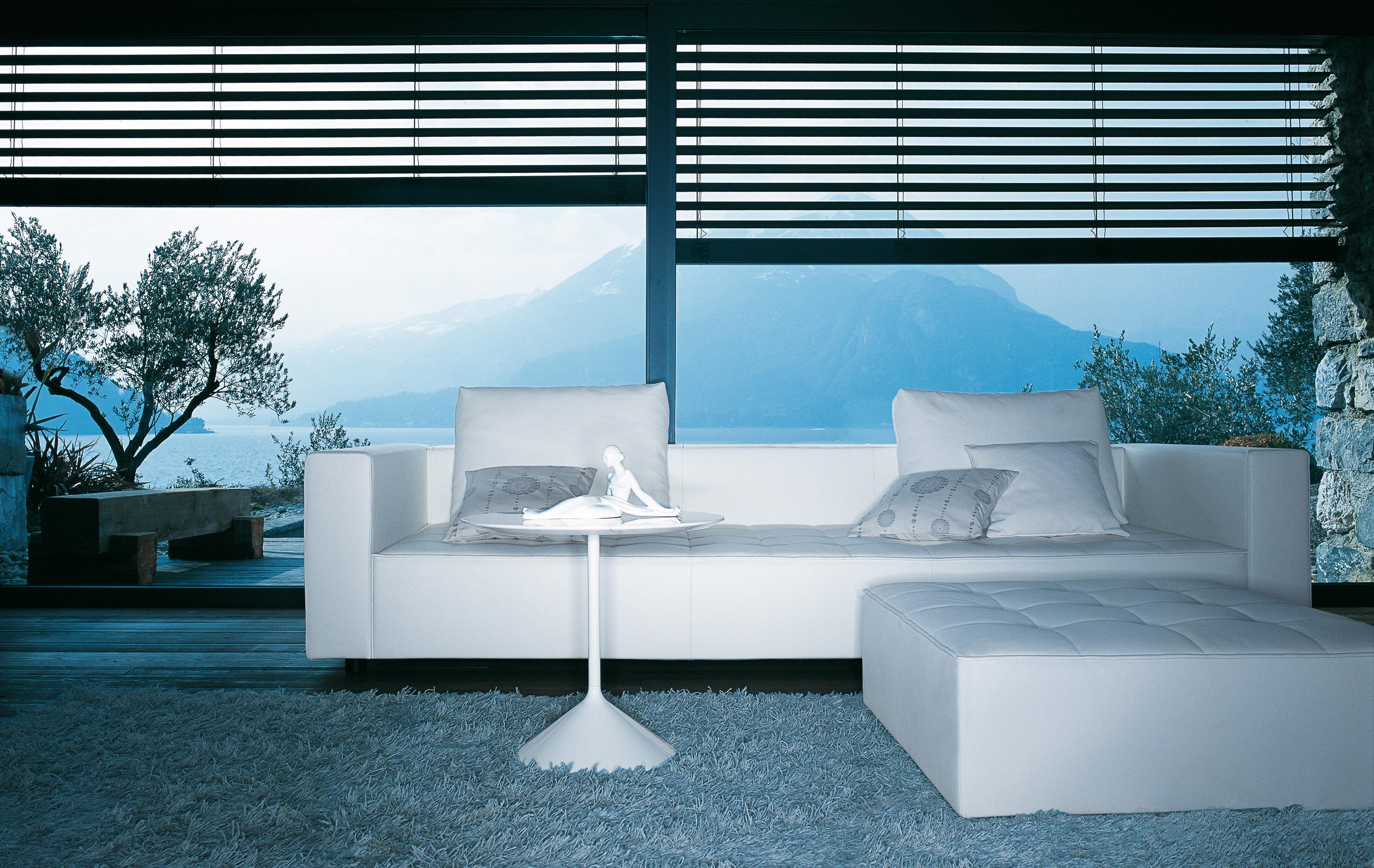 Kilt Sofa Leder 3 Sitzer Leder Weiss By Zanotta Made In Design