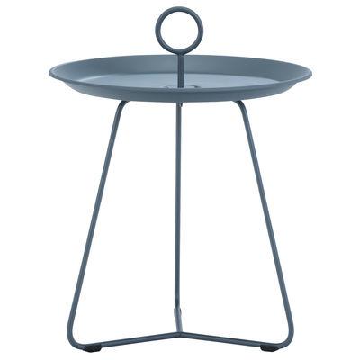 Table d'appoint Eyelet Small / Ø 45 x H 46,5 cm - Métal - Houe bleu en métal