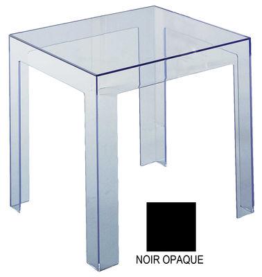 Table d'appoint Jolly version opaque - Kartell noir opaque en matière plastique